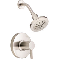 Click here to see Danze D520530BNT Danze D520530BNT Amalfi Single-Handle Pressure Balance Valve Shower Trim Only - Brushed Nickel