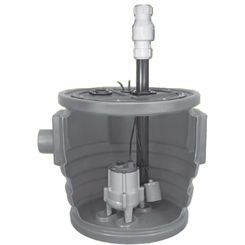 Click here to see Little Giant 511636 Little Giant 511636 Simplex Package System 24X24 Basin Pre-Assembled