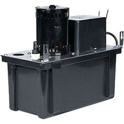 Click here to see Little Giant 553137 Little Giant 553137 VCL-24S Condensate Pump 1/15Hp 230V