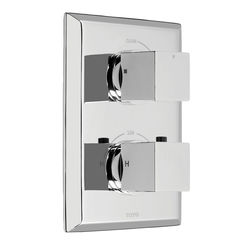 Click here to see Toto TS930C#CP Toto TS930C Chrome Lloyd Thermostatic Mixing Valve Trim w/ Single Volume Control