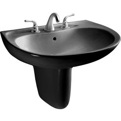 Click here to see Toto LHT241.8#51 Toto LHT241.8#51 Supreme 23 x 20 Ebony Lavatory Sink and Shroud