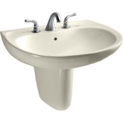 Click here to see Toto LHT241.8G#12 Toto LHT241.8G#12 Supreme 23 x 20 Sedona Beige Lavatory Sink and Shroud