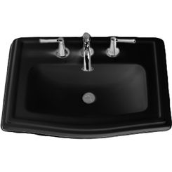 Click here to see Toto LT781.4#51 Toto LT781.4 Ebony Clayton Self Rimming Lavatory- 4