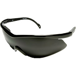 Click here to see Wolf Peak DB116 Edge EyeWear DB116 Banraj Safety Sunglasses - Black Frame With Smoke Lens