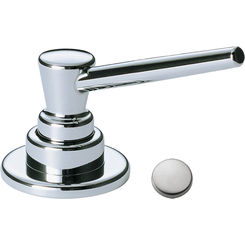 Click here to see Delta RP1001AR DELTA RP1001AR SOAP AND LOTION DISPENSER ARCTIC STAINLESS