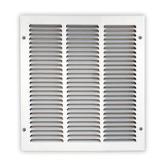 Click here to see Shoemaker 1050-20X12 20x12 Soft White Return Air Grille (Stamped from Cold Roll Steel) - Shoemaker 1050