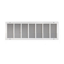 Click here to see Shoemaker 1050-30X12 30x12 Soft White Return Air Grille (Stamped from Cold Roll Steel) - Shoemaker 1050