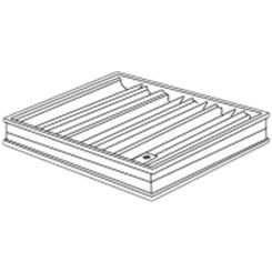 Click here to see Shoemaker 0BD-24X6 24X6 Opposed Blade Damper (Aluminum)-Shoemaker OBD Series