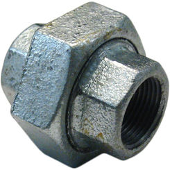 Click here to see Commodity  GALU34 Galvanized Union, 3/4 Inch