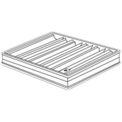 Click here to see Shoemaker 0BD-5X34 5X34 Opposed Blade Damper (Aluminum)-Shoemaker OBD Series