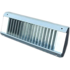 Click here to see Shoemaker USR52-12X4 12X4 White Vent Cover (Galvanized Steel)-Shoemaker USR52 Series