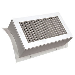 Click here to see Shoemaker SD52-14X8 14X8 White Vent Cover (Steel)-Shoemaker SD52 Series