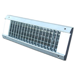 Click here to see Shoemaker USR34-0-18X4 18X4 White Vent Cover (Galvanized Steel)-Shoemaker USR34-0 Series