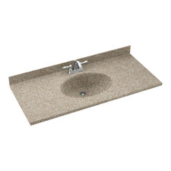 Click here to see Swanstone CH02261.060 Swanstone CH1B2261-060 Chesapeake Winter Wheat  Vanity Top