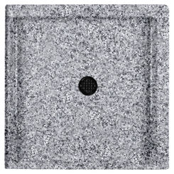 Click here to see Swanstone SF03232MD.042 Swanstone SS-3232-042 Gray Granite 32