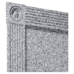 Click here to see Swanstone TC00105TR.042 Swanstone TC-105TR-042 Gray Granite Trim Kit For 96