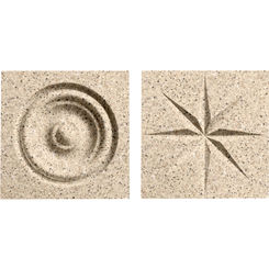 Click here to see Swanstone TC00404.040 Swanstone TC-0404TR-040 Bermuda Sand Rosettes For Swanstone Panels - 2