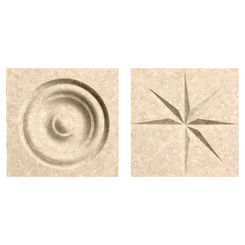 Click here to see Swanstone TC00404.063 Swanstone TC-0404TR-063 Cornflower Rosettes For Swanstone Panels - 2