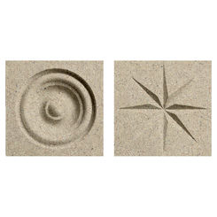 Click here to see Swanstone TC00404.122 Swanstone TC-0404TR-122 Green Prairie Rosettes For Swanstone Panels - 2