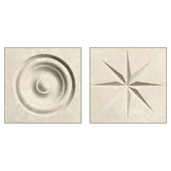 Click here to see Swanstone TC00404.126 Swanstone TC-0404TR-126 Cloud Bone Rosettes For Swanstone Panels - 2