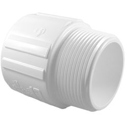 Click here to see Commodity  Schedule 40 PVC 2-1/2 Inch Male Adapter