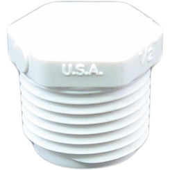Click here to see Commodity  Schedule 40 PVC 1/2 Inch Threaded Plug