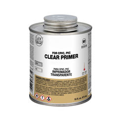 Click here to see Commodity  1 Pint Clear Pvc Primer
