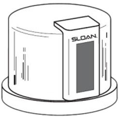 Click here to see Sloan 3325012 Sloan EBV-55-A Cover Assembly
