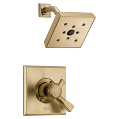 Click here to see Delta T17251-CZH2O Delta T17251-CZH2O Dryden Monitor Shower Trim in Champagne Bronze