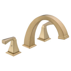 Click here to see Delta T2751-CZ Delta T2751-CZ Dryden Roman Tub Faucet in Champagne Bronze