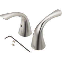 Click here to see Delta RP63973AR Delta RP63973AR Arctic Stainless Pilar Handle Assembly