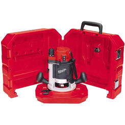 Click here to see Milwaukee 5615-21 Milwaukee 5615-21 Double Insulated Corded Router Kit, 120 VAC/DC, 11 A, 1-3/4 hp