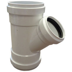 Click here to see Commodity  8x8x4 Inch PVC Sewer & Drain Wye Tee