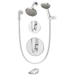 Click here to see Symmons 4106-STN Symmons 4106-STN Satin Nickel Naru Series Tub/Shower/Hand Shower System