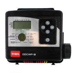 Click here to see Toro DDCWP-8-9V Toro DDCWP-8-9V Waterproof Battery-Operated Controller, 8-Station
