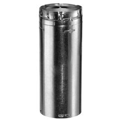 Click here to see M&G DuraVent 30GV18A DuraVent 30GV18A Type B Gas Vent 30-Inch Round Adjustable Pipe