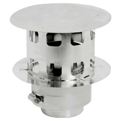 Click here to see M&G DuraVent W2-RC4 DuraVent W2-RC4 FasNSeal W2 4-Inch Rain Cap