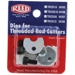 Click here to see Reed TRCD1/4 Reed Manufacturing TRCD1/4 Replacement Dies 1/4
