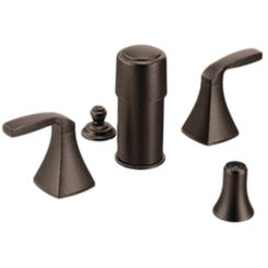 Click here to see Moen T5269ORB Moen T5269ORB Voss Series Two-Handle Bidet Faucet (Oil-Rubbed Bronze)