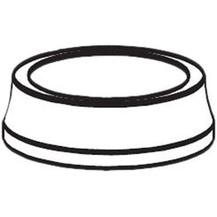 Click here to see Moen 100011 Moen 100011 Monticello Handle Escutcheon Ring w/ Gasket - Chrome