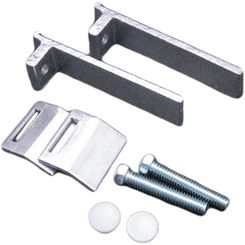 Click here to see Moen 22747 Moen 22747 Stainless Mounting Clamps