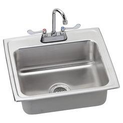Click here to see Elkay LR2219SC Elkay LR2219SC Gourmet Stainless Steel Single Bowl Sink Package