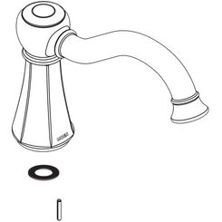 Click here to see Moen 125760ORB Moen 125760ORB Roman Tub Spout Kit Oil Rubbed Bronze
