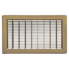 Click here to see Shoemaker 1600-8X14 8x14 Driftwood Tan Vent Cover (Steel Honeycomb Construction) - Shoemaker 1600