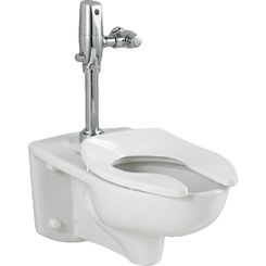 Click here to see American Standard 3351.660.020 American Standard 3351.660.020 White Afwall Selectronic Flush Valve Toilet