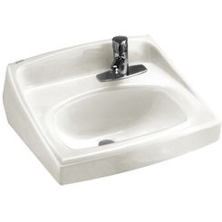 Click here to see American Standard 0356.439.020 American Standard 0356.439.020 Lucerne Wall-Mount Sink, White