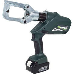 Click here to see Greenlee ECCXL11 Greenlee ECCXL11 Battery-Powered Gator-Pro Crimp Tool (6-Ton)(120V Charger)