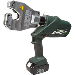 Click here to see Greenlee EK06ATCL230 Greenlee EK06ATCL230 Insulated Dieless Battery-Powered Crimp Tool
