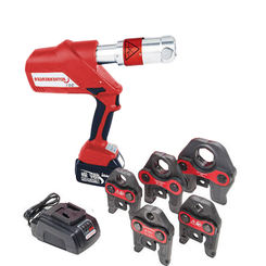 Click here to see Rothenberger 16102 Rothenberger 16102 ROPRESS Cordless Press Tool Package