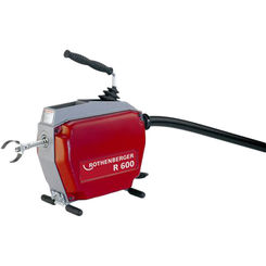 Click here to see Rothenberger 72676 Rothenberger 72676 R600 Drain Cleaning Machine With Tool Kit, 7/8